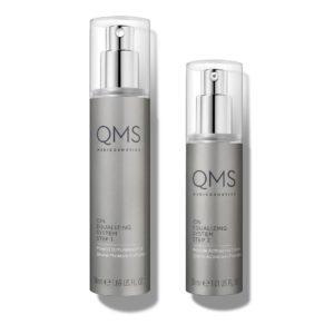 qms medicosmetics ion equalizing system step 1 2
